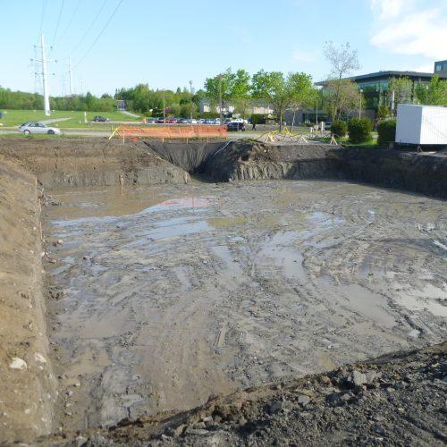 Bassin de r tention stormchamber avec g omembrane tanche for Membrane etanche bassin