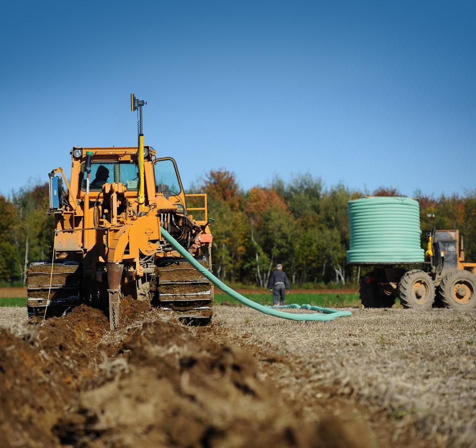 Solutions aménagement agricole - Gestion de l'eau pluviale