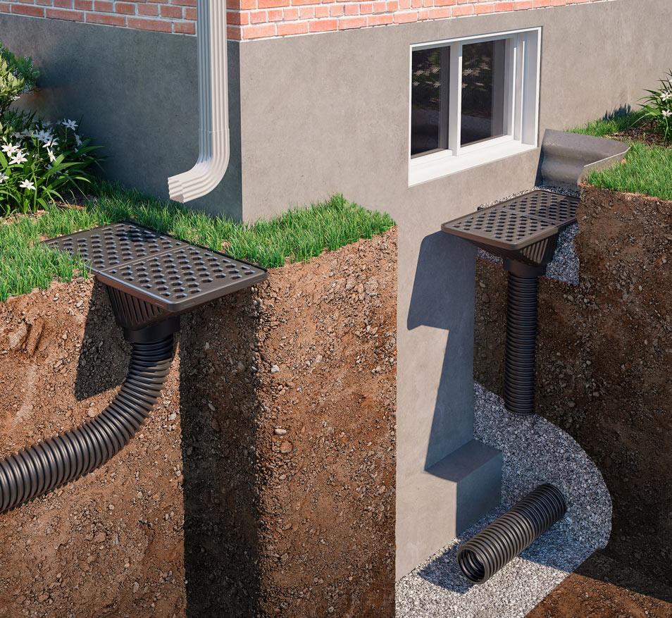 Systeme de drainage maison ventana blog - Drainage d une maison ...